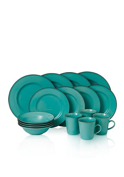 Union Street Cafe 16-Piece Dinnerware Collection