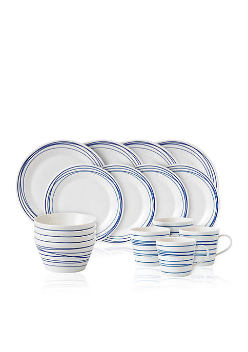 Royal Doulton Pacific Lines 16-pc. Dinnerware Set