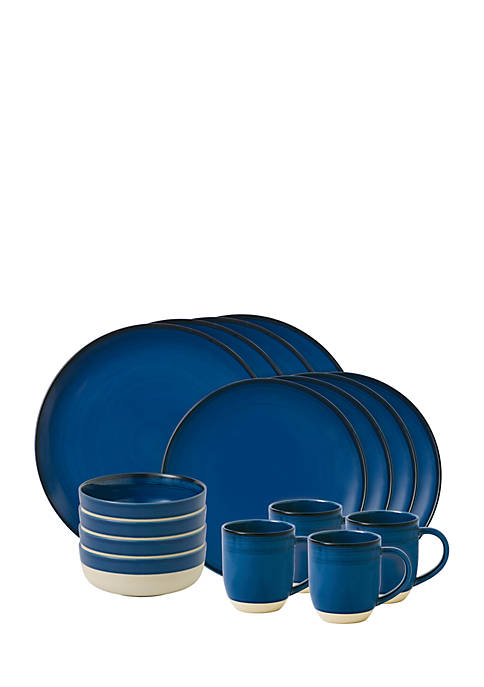 Ellen Degeneres Brushed Glaze 16-Piece Set