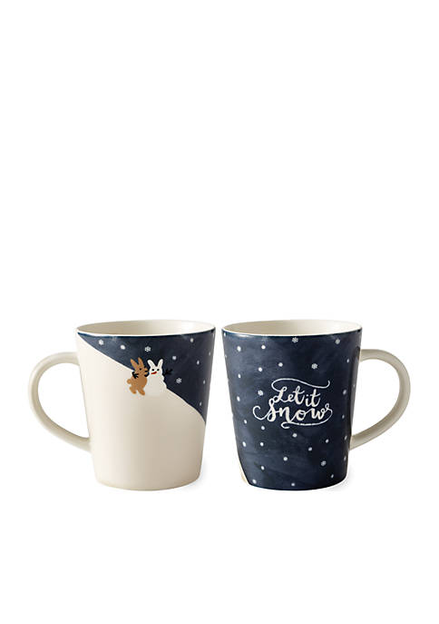 Royal Doulton Let It Snow Mug