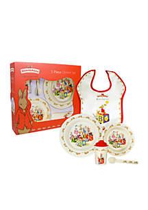 Royal Doulton Bunnykins Melamine 5-Piece Dinner Set