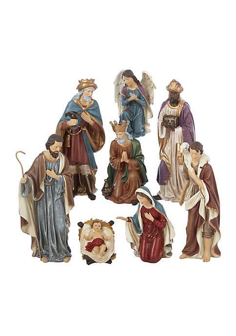Kurt S. Adler Resin Nativity Set