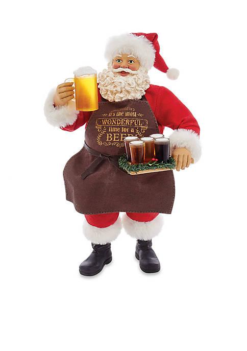 Kurt S. Adler Fabriche Beer Santa
