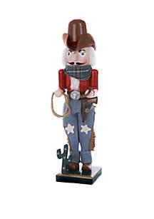 Wooden Cowboy Nutcracker