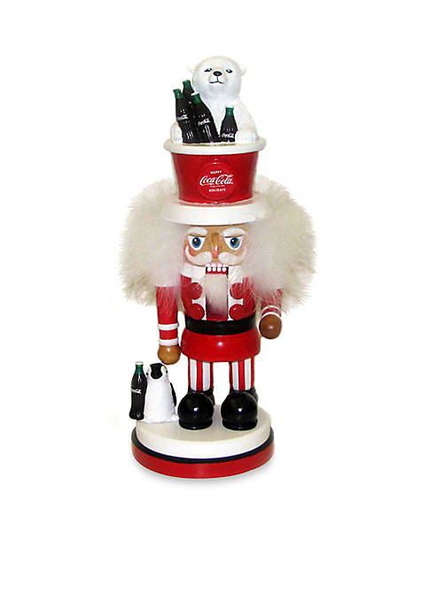 Kurt S. Adler Coca-Cola Hollywood Nutcracker With Polar