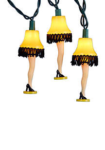 UL 10-Lights Christmas Story Leg Lamp Light Set