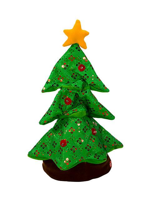 Kurt S. Adler Battery-Operated Singing and Rocking Christmas