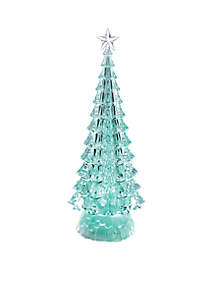 Battery-Operated Color-Changing LED Tree Decoration