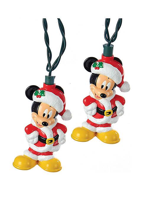 Kurt S. Adler UL 10-Light Mickey Mouse Light