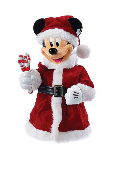 Kurt S. Adler 10-Inch Mickey Mouse Treetop/Tablepiece with