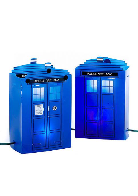 Kurt S. Adler 5-Light Doctor Who Tardis Luminary