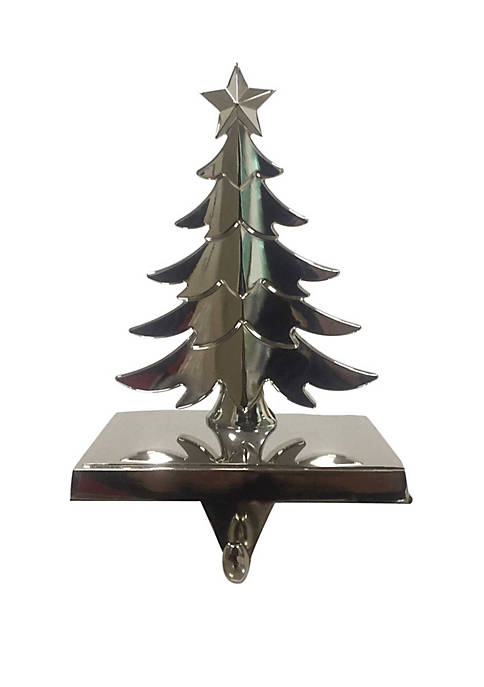 Kurt S. Adler Metal Christmas Tree Stocking Hanger