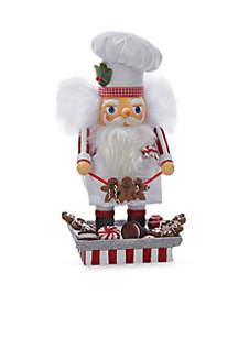 Hollywood Santa Gingerbread Chef Nutcracker