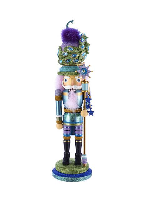 Kurt S. Adler 17.5 Inch Hollywood™ Peacock Hat