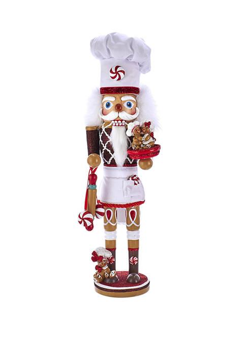 Kurt S. Adler 15.5 Inch Hollywood™ Gingerbread Chef