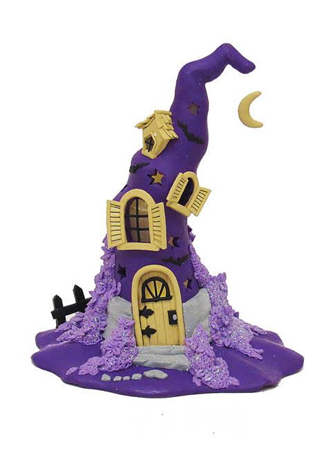 Kurt S. Adler 10.43 Inch Claydough Halloween Purple