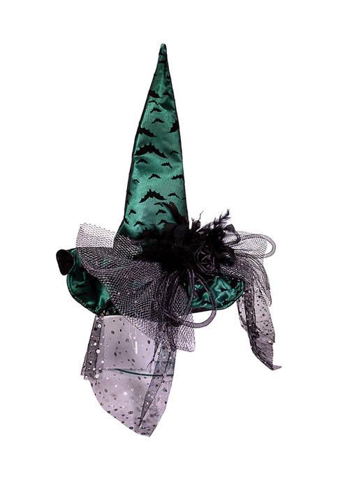 Kurt S. Adler 18.5 Inch Fabric Green Witch