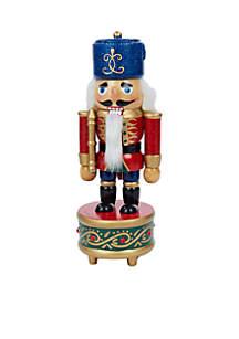Wooden Musical Soldier Nutcracker