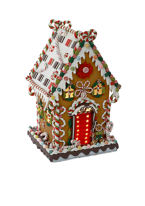 Kurt S. Adler Cookie Candy House with Lights