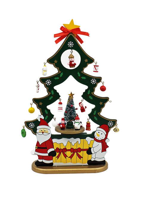 Kurt S. Adler 11.5 Inch Musical Santa and