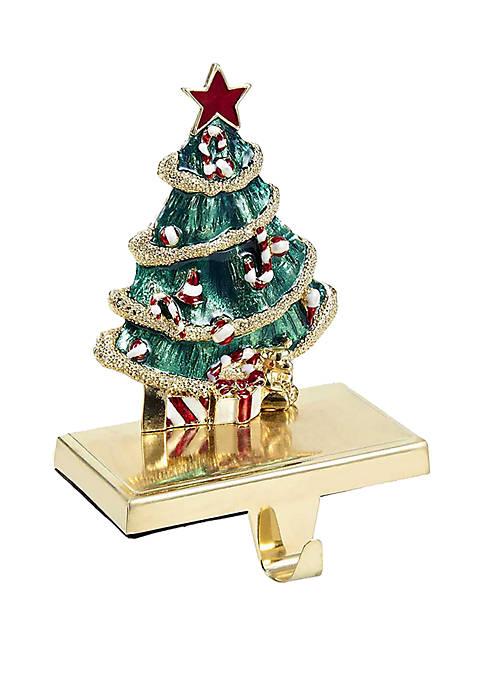 Christmas Tree Stocking Hanger