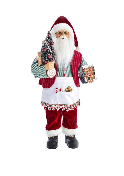 Kurt S. Adler 18 Inch Kringle Klaus Santa