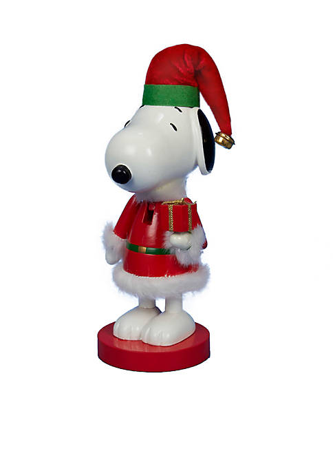 Kurt S. Adler Snoopy in Red Santa Suit
