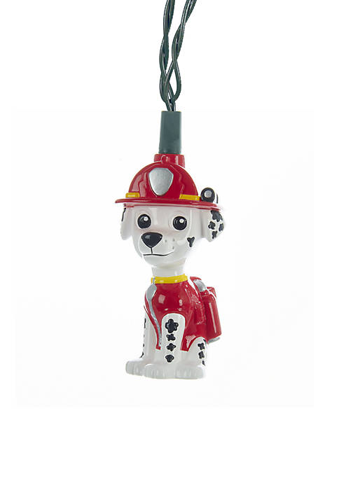 Kurt S. Adler UL 10-Light Paw Patrol Marshall