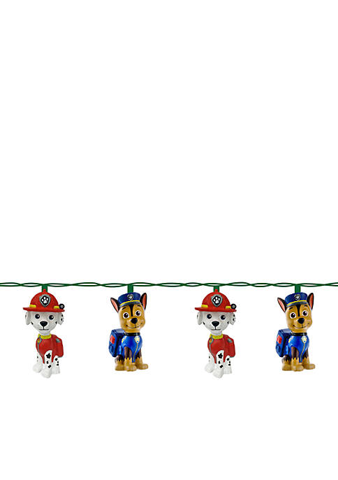 Kurt S. Adler 10-Light Paw Patrol Light Set