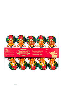 10-Light Rudolph Light Set