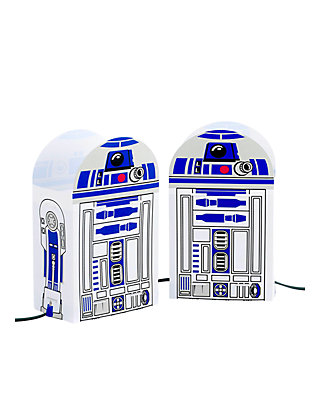 Kurt Adler 5-Light Star Wars R2D2 Luminary Outdoor Decor