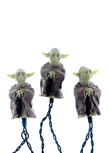 UL 10-Light Star Wars Plastic Yoda Light Set