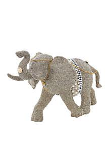 Vintage Glamour Elephant Table Piece