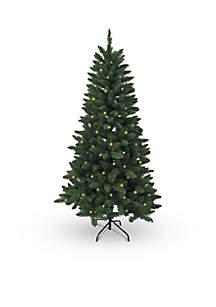 Pre-Lit Pine Tree