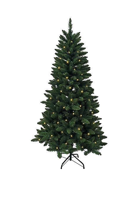 Kurt S. Adler Pre-Lit Green Pine Tree