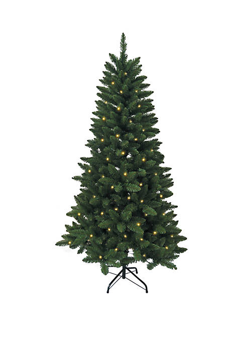 Kurt S. Adler Pre-Lit LED Green Pine Christmas