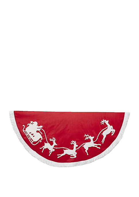 Kurt S. Adler 50 Inch Red and White