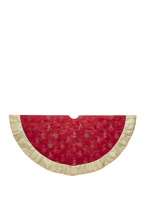 Kurt S. Adler 60 Inch Red and Gold