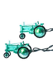 10-Light Green Tractor Light Set