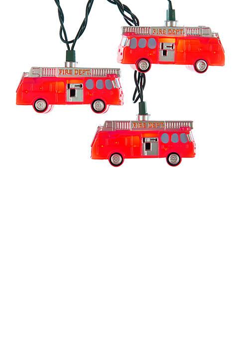 Kurt S. Adler 10-Light Fire Truck Light Set