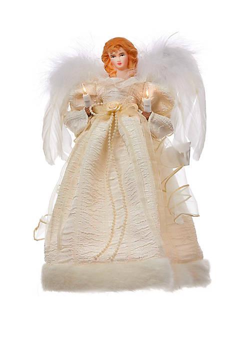 Kurt S. Adler 10-Light 12 in Gold Angel