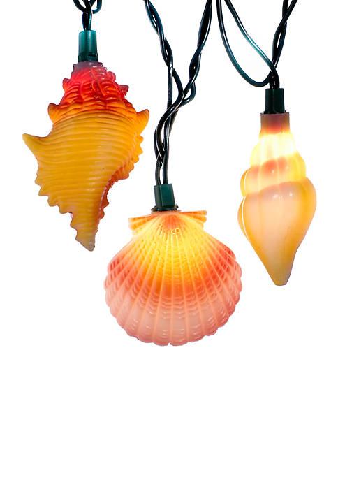 Kurt S. Adler 10-Light Conch and Shells Light
