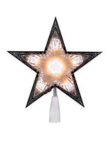 10-Light Laser Clear Star Treetop