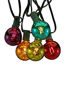 UL 10-Light G50 C7 Multi-Colored Novelty Light Set