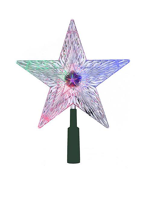 Kurt S. Adler LED Color-Changing Light Star Treetop