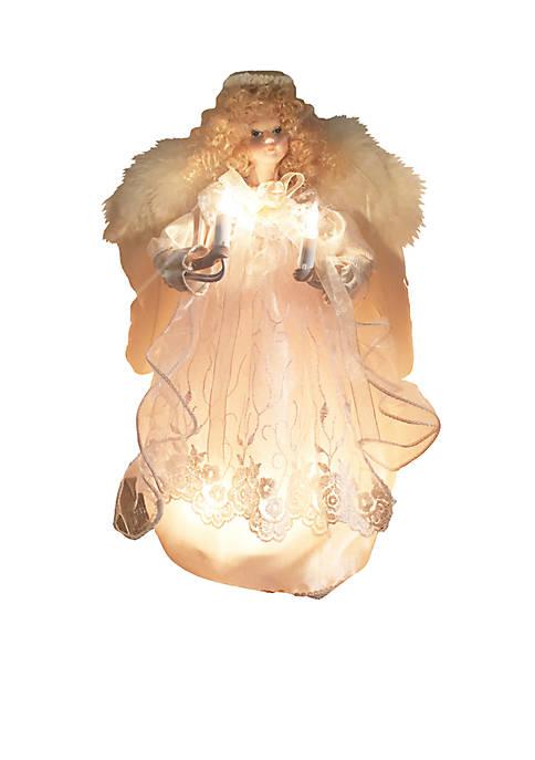 Kurt S. Adler 12-in. UL 10-Light Ivory Angel