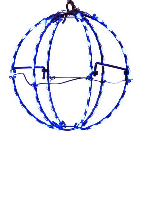 Kurt S. Adler 6 Inch Blue LED Foldable