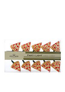 Indoor/Outdoor 10-Light Pizza Light Set