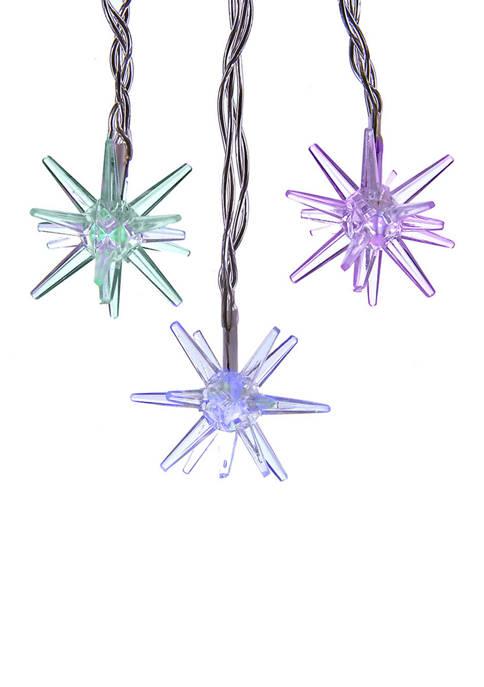 Kurt S. Adler 15-Light Starburst with RGB LED