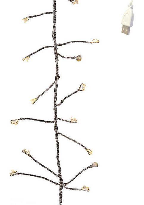 Kurt S. Adler 240-Light 8-Inch USB Fairy LED